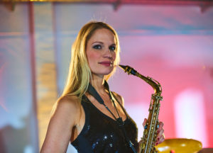 Marion_Saxophonistin