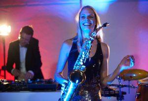 Saxophonistin Ingolstadt