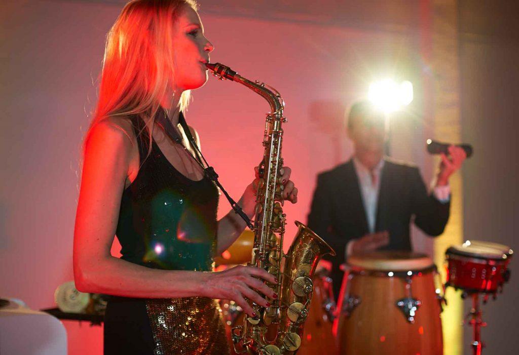 DJ Saxophonistin Bayern
