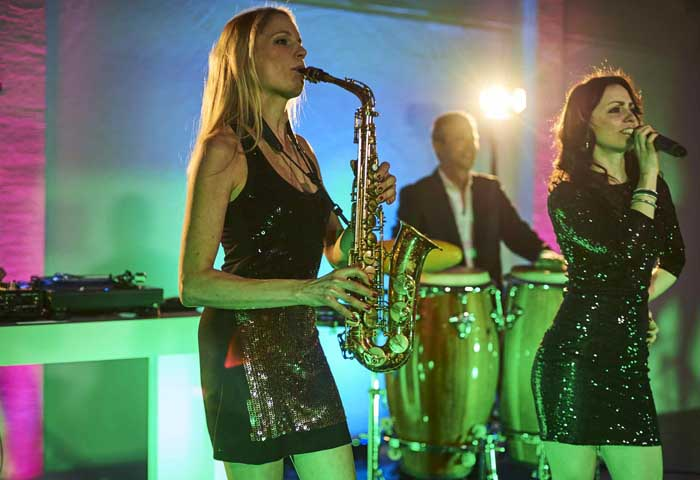 Saxophonistin DJ Stuttgart