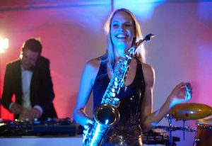 Saxophonistin DJ Berlin